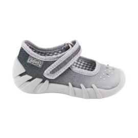 Gris Zapatos befado para niños 109P185