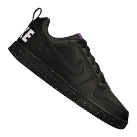 Negro Zapatillas Nike Court Borough Low Se M 916760-002