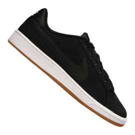 Negro Zapatillas Nike Court Royale Canvas M AA2156-001