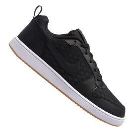 Negro Zapatillas Nike Court Borough Low Se M 916760-003