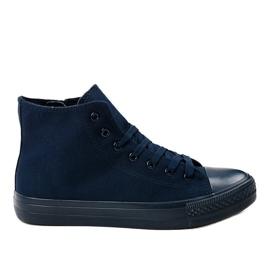 Zapatillas altas de hombre azul oscuro XN50 marina