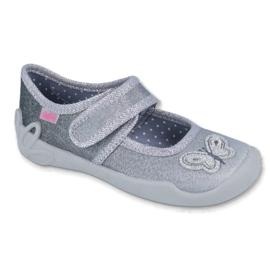 Gris Zapatos befado para niños 123X034