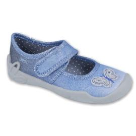 Azul Zapatos befado para niños 123X035