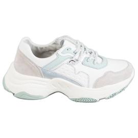 Vinceza Zapatos deportivos con cordones gris