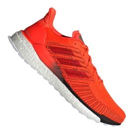 Naranja Adidas Solar Boost 19 M G28462 zapatillas de correr