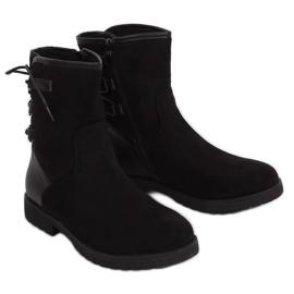 Botas con aislamiento negro 8122 Negro