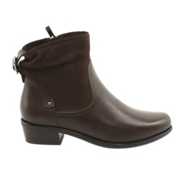 Botas caprice 25335 marrón mujer