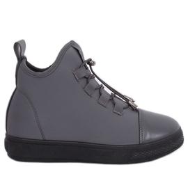 Zapatillas de neopreno gris aislante XY-35 Gris