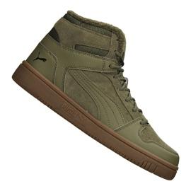Zapatillas Puma Rebound LayUp Sd Fur M 369831-03 verde