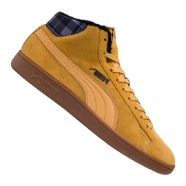 Zapatillas Puma Smash v2 Mid Wtr M 366810-03 marrón