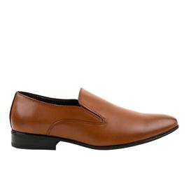 Mocasines marrones elegantes 6-317 marrón