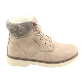 American Club marrón Zapatos con cordones RH47 beige