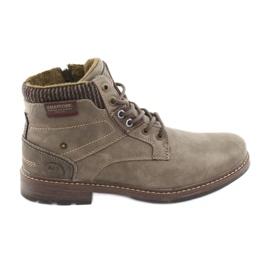 Botas de hombre american club RH31 marrón