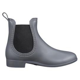 SHELOVET gris Botas de agua sin cordones
