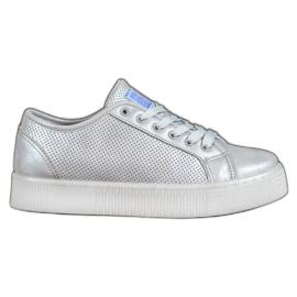 Zapatillas de plata