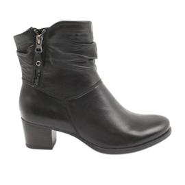 Caprice 25347 botas negras con cremallera negro