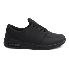 7765-1 Calzado deportivo negro para correr