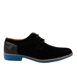 Zapatos elegantes negros H-32