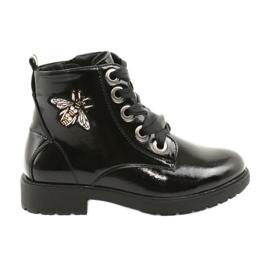 Botas de barniz Sergio Leone 530 negro