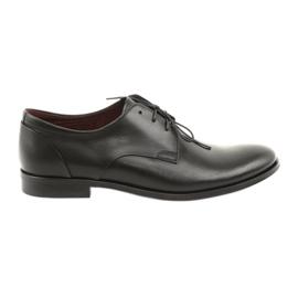 Zapatos de cuero Pilpol 1609 negro