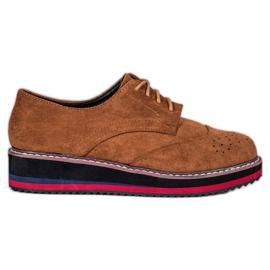 Vices Zapatos de camello marrón