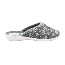 Adanex 24215 zapatillas de fieltro copo de nieve