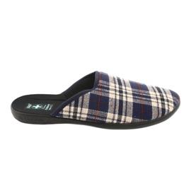 Zapatillas de hombre Adanex a cuadros