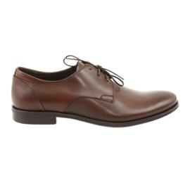 Zapatos de cuero Pilpol 1609 marrón