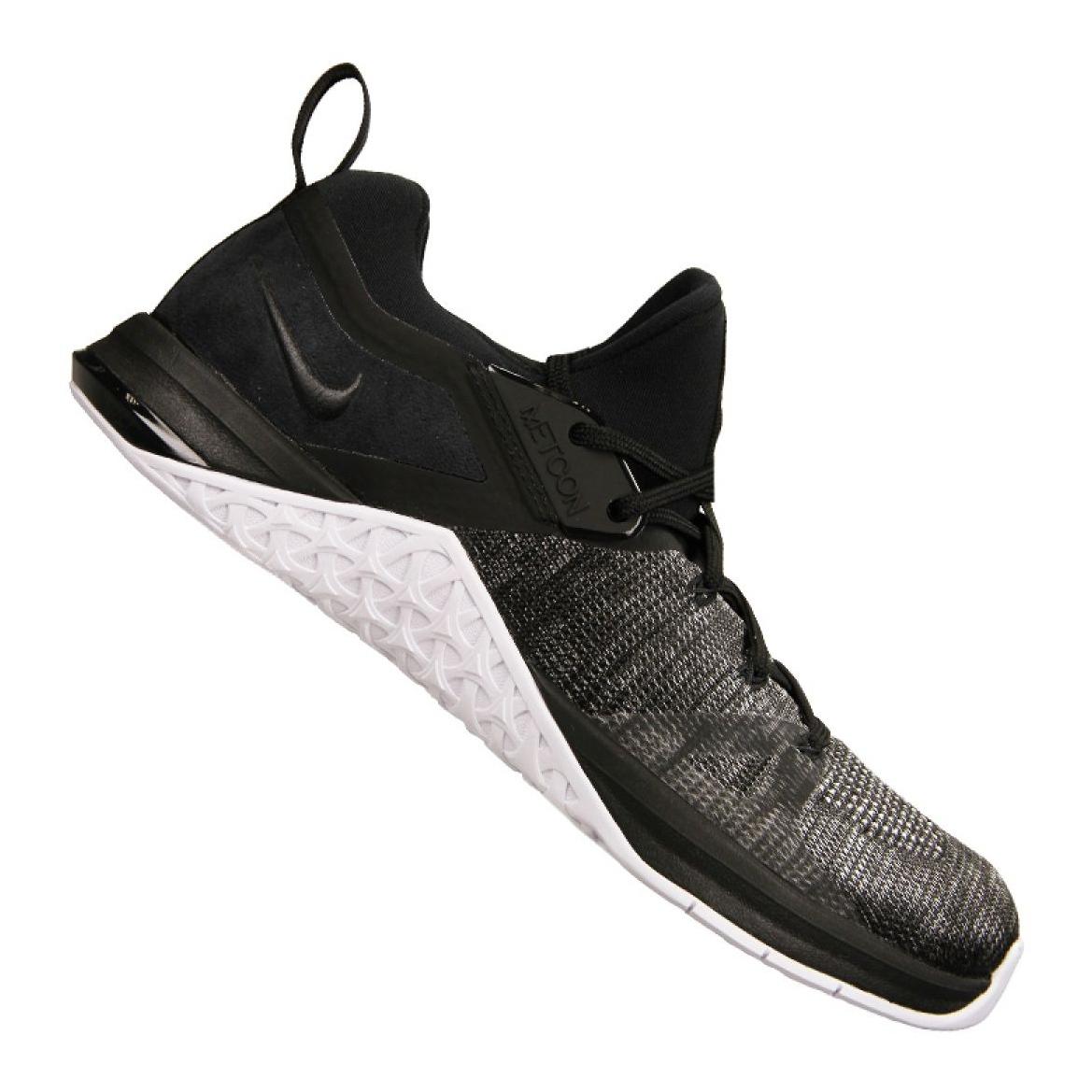 Zapatillas Nike Metcon Flyknit 3 M AQ8022 001 negro
