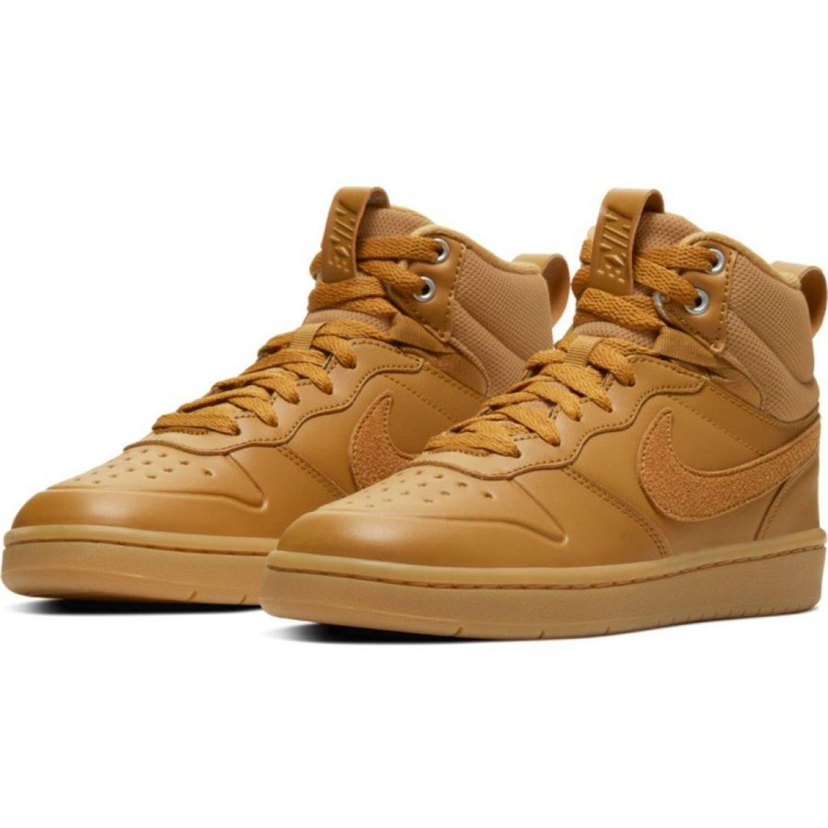 Estilo Populares Zapatos Zapatos NIKE Court Borough Mid Se