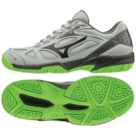 Zapatillas Mizuno Cyclone Speed ​​2 Jr V1GD191037 gris gris / plata