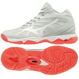 Zapatillas Mizuno Wave Hurricane 3 Mid W V1GC174560 blanco blanco