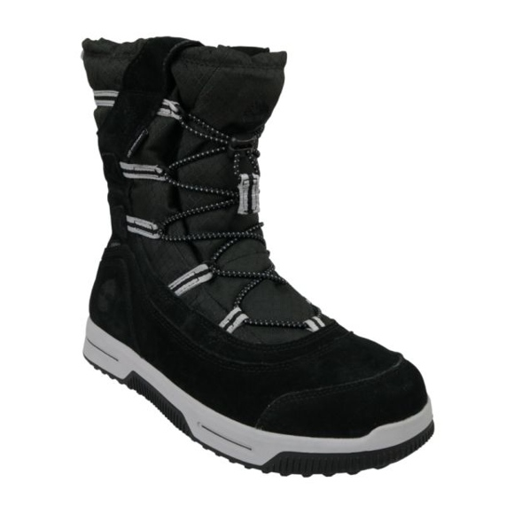 Timberland Snow Stomper Pull On Wp Jr A1UIK Zapatos de invierno negro