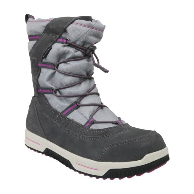 Botas de invierno Timberland Snow Stomper Pull On Wp Jr A1UJ7 gris