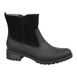 Timberland Bethel Biker W 6914B Zapatos de invierno negro