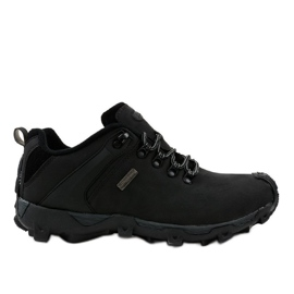 Zapatillas trekking negras MXC-6645 negro