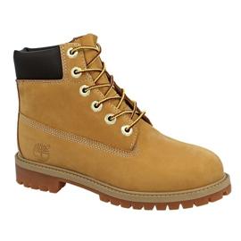 Timberland 6 In Premium Wp Boot Jr 12909 Calzado amarillo