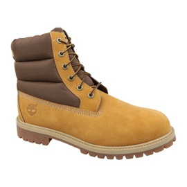 Timberland 6 In Quilit Boot Jr C1790R Botas de invierno marrón