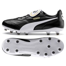 Zapatillas de fútbol Puma King Top Fg M 105607 01 negro negro