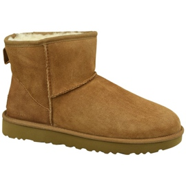 Zapatillas Ugg Classic Mini II W 1016222-CHE marrón