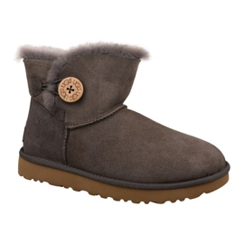 Zapatos Ugg Mini Bailey Button II W 1016422-MOLE marrón