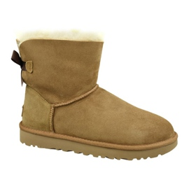 Zapatillas Ugg Mini Bailey Bow Ii W 1016501-CHE marrón