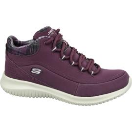 Zapatillas Skechers Ultra Flex W 12918-BURG púrpura