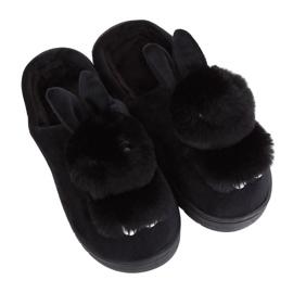 Zapatillas negras MA01 negras para mujer negro