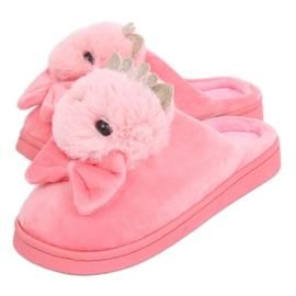 Zapatillas de mujer rosa brillante DD112 Lightpink