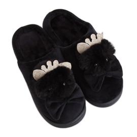 Zapatillas de mujer negras DD112 Black negro