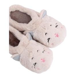 Zapatillas de mujer MA16 Blanco Leche marrón
