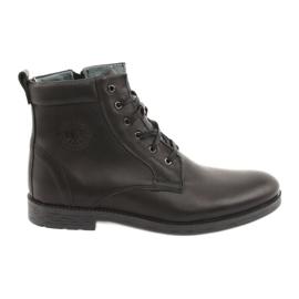 Botas altas con cremallera Riko 884 negro