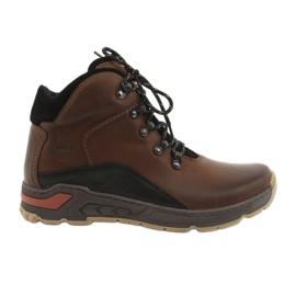 Zapatillas trekking hombre Riko 903 marrón / negro