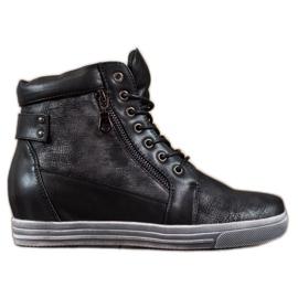 Sergio Leone Zapatillas negras negro
